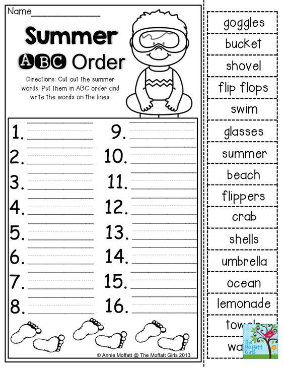 All Worksheets » Alphabetical Order Worksheets For Grade 3