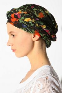 Tying Head Scarves For Cancer Patients