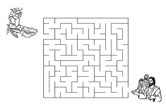 Coloring, Maze and Coloring pages on Pinterest