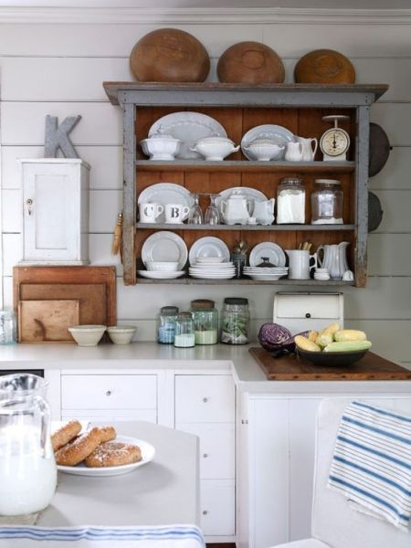open rustic kitchen cabinets 5 Ways to Get This Look: Rustic Kitchen | Pinterest | Open