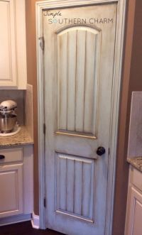 Beautifully painted pantry door! | Just Add Paint ...