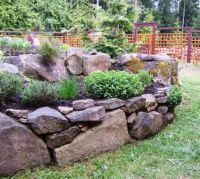 Gardening With Rocks | Gardens, Raised beds and Raised ...