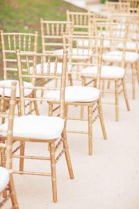 Gold tiffany chairs. | Tanya and Raphael | ExtraOrdinary ...