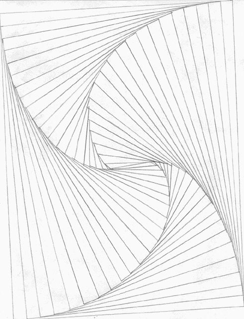 Line art, Illusions and 3d on Pinterest