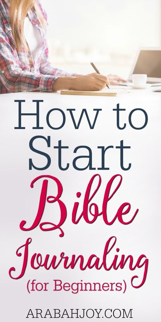 How to Start Bible Journaling: For Beginners