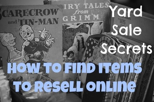 Yard sales and Money on Pinterest