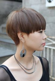 modern short japanese haircut