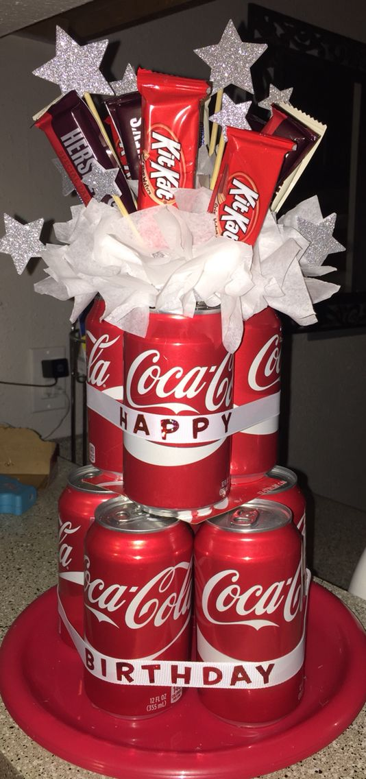 I Made This Soda Can Cake For My Bosss Birthday Quick