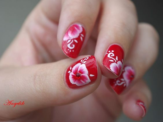 Short Nail Art Designs 2013
