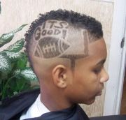crazy hairstyles of soccer fans
