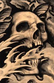 details screaming skull clark