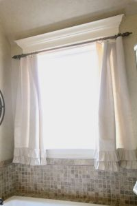 Curtain rods, Window crown moldings and Love the on Pinterest