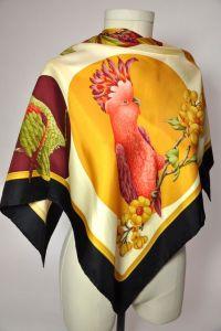 Salvatore ferragamo, Silk scarves and Silk on Pinterest