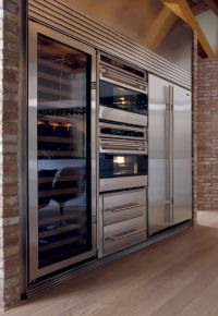 Sub-Zero ICBWS30/S/TH/RH Wine Cabinet   A well, Custom ...