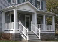 Porch with stone skirt | porch | Pinterest | Faux stone ...