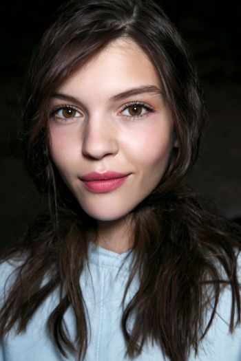 Lip Stains: The Prettiest Sheer Lip Colors for Summer | StyleCaster; Josie Maran magic marker lip and cheek stain in waltz: