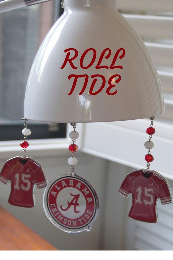 Alabama Crimson Tide Home Decor Ornaments These Magnetic Roll