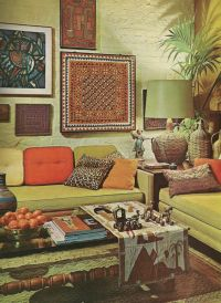 Vintage+1960s+Decor | Vintage Home Decorating, 1960s style ...