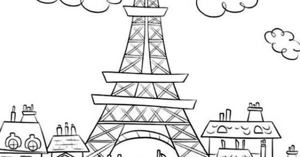 [Coloring Pages] eiffel tower mandala coloring: Fast