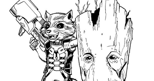 Free Guardians of the Galaxy Activity Pack including