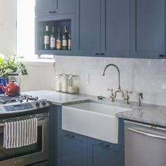 Farm Sinks For Kitchens Lowes Pewter Kitchen Faucet Claire & Mike's Park Slope Renovation | House ...