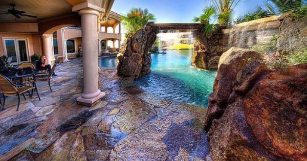 Natural Looking Pools Dream Home Pinterest Swimming