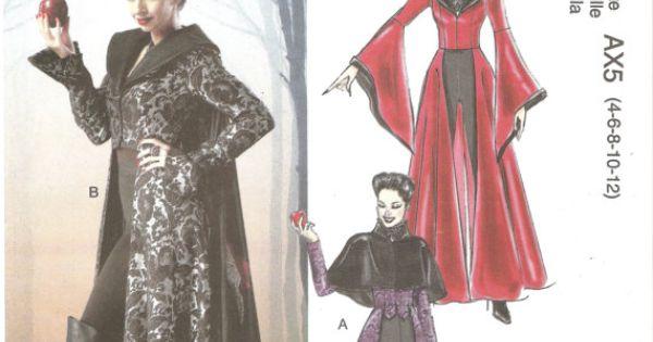 McCalls M6818 Evil Queen Costume Pattern