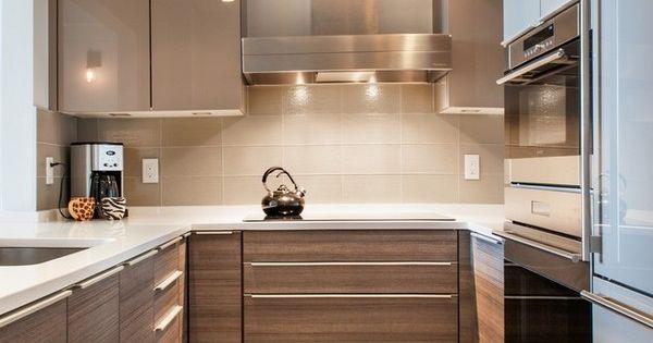 Small U Shaped Kitchen With Island