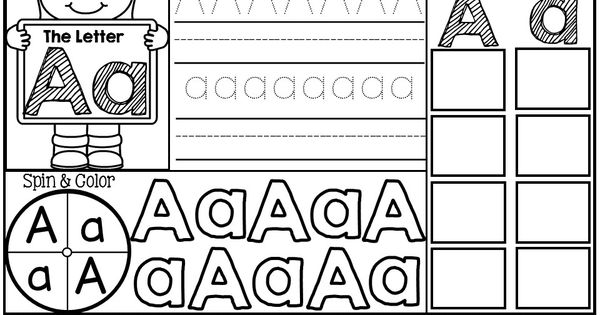 Fun with Letters! (Letter Identification Practice