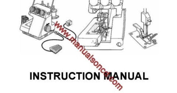 Singer TS TS380 Sewing Machine Instruction Manual Pdf