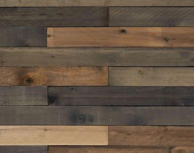 null 12 in x 4 in x 4 ft Weathered Hardwood Board 8
