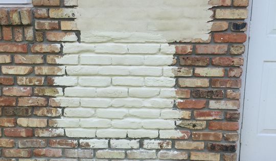 Painted Brick Fireplaces Painting Brick Fireplaces Brick Deep Mortar Joint Brick Wash (slurry, Sack, Lime, White