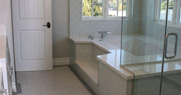 Step Down Roman Tub Shower Combination Dream Bathrooms