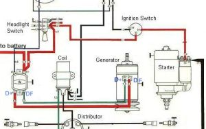 Ignition and charging system diagram | BAJA BUGS