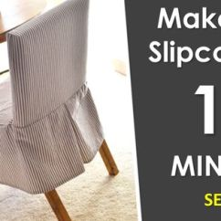 Parsons Chairs With Skirt Desk Chair Combo Ana White | Build A Easiest Parson Slipcovers Free And Easy Diy Project Furniture ...
