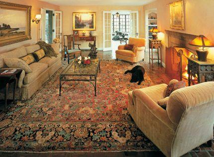Oriental Rug Room Settings Gallery Elegant Yet Cozy The