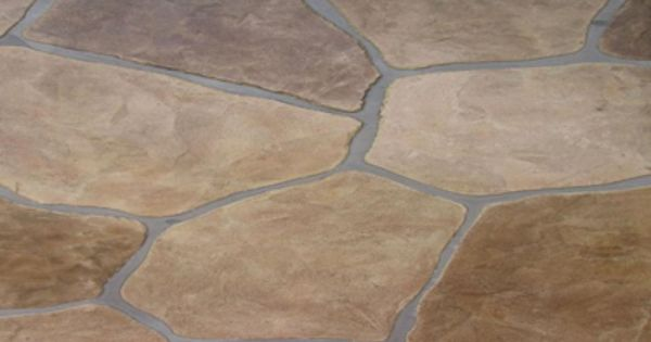 River Rock Stamped Concrete Pattern  Stamped Concrete  Backyard Design  Pinterest  Stamped