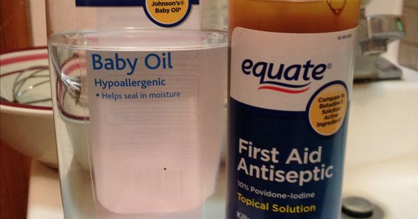 Hoax Doesnt Work Save Your Money Iodine And Baby Oil