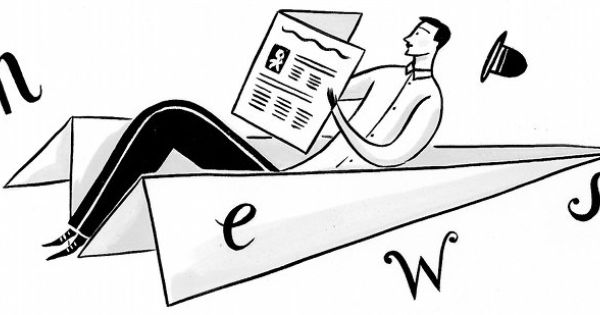Parts of a newspaper. Lesson plan for high-school. Use