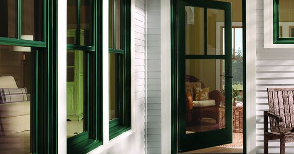 Andersen 400 Series Wood Clad Hunter Green Windows with Tall Fractional SDL Gridsjpg 638850