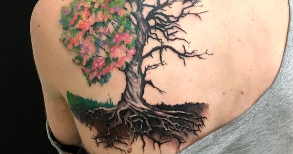 20 Half Alive Half Dead Tattoos Ideas And Designs