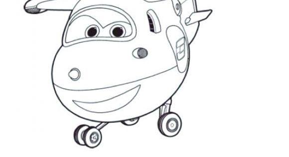 Super Wings Jet Ausmalbilder