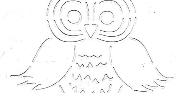 Endless Inspirations Kelly's Owl Stencil Free US by