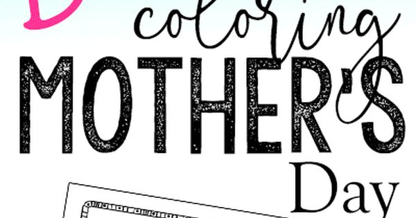 Bible Verse Coloring Pages for Mother's Day. Scripture