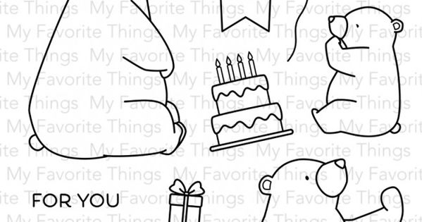 Happy Birthday Balloons Craft Stamp