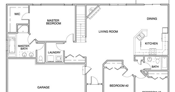 Floor Plans For Ranch Homes For $130000