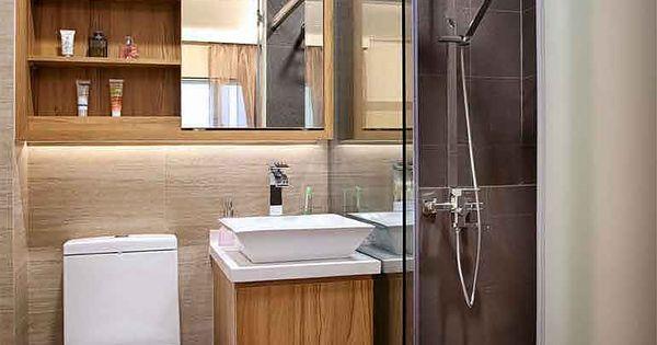 Waschbecken und WC nebeneinander Schrank dahinter hdb 4 room living room  Google Search  Gste