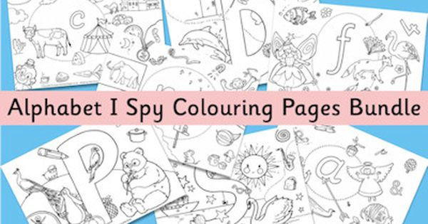 print and color there wonderful i spy alphabet coloring