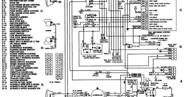 Wiring Diagrams In Addition 85 Chevy Truck Instrument Cluster Wiring
