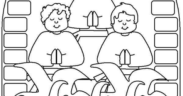 Shadrach Meshach And Abednego Coloring Page Coloring pages